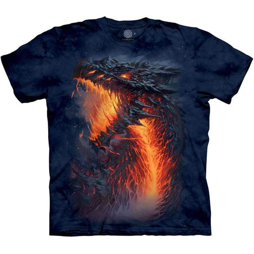 Lavaborn Dragon Unisex T Shirt - GOLDENHANDS