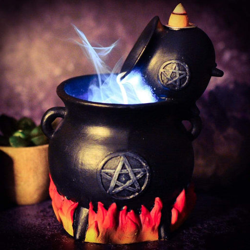 Pouring Cauldron Backflow Incense Cone Burner - GOLDENHANDS