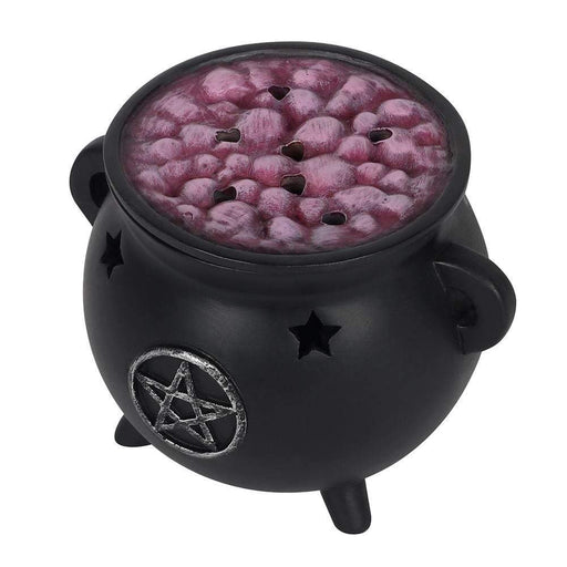 Pentagram Cauldron Incense Cone Holder - GOLDENHANDS