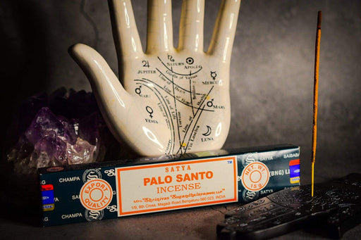 Palo Santo Incense Sticks by Satya - GOLDENHANDS