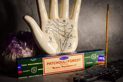 Patchouli Forest Incense Sticks by Satya - GOLDENHANDS