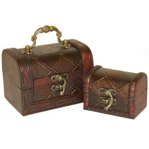 Set of Two Diamond Chests - GOLDENHANDS