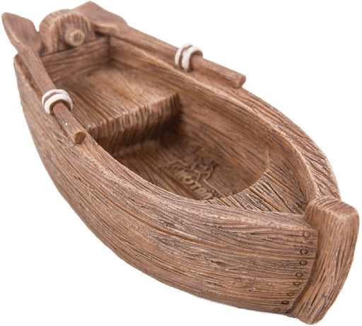 Old Wooden Row Boat Home or Garden Decoration - GOLDENHANDS