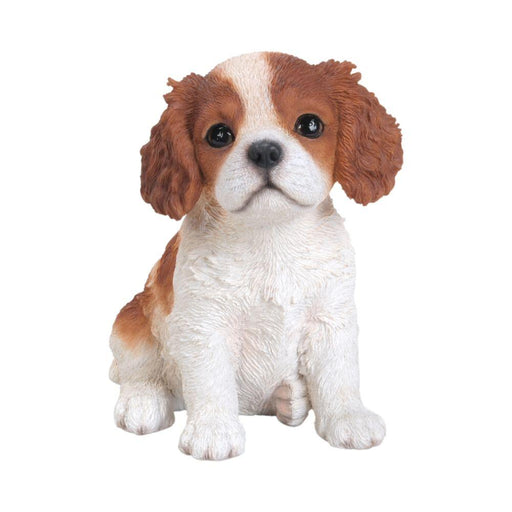 King Charles Puppy Pet Pals Home or Garden Decoration - GOLDENHANDS