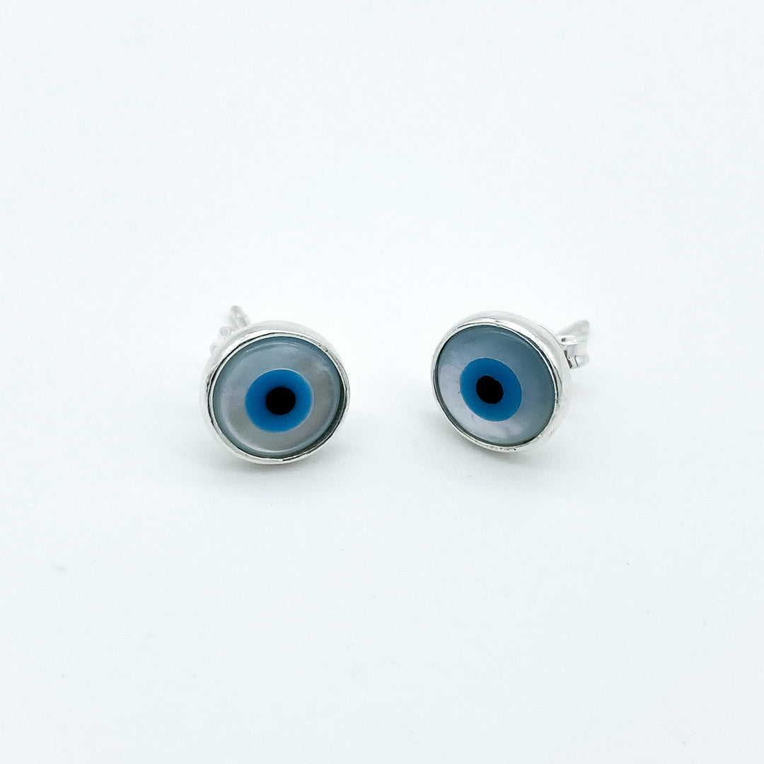 Greek Eye Earrings