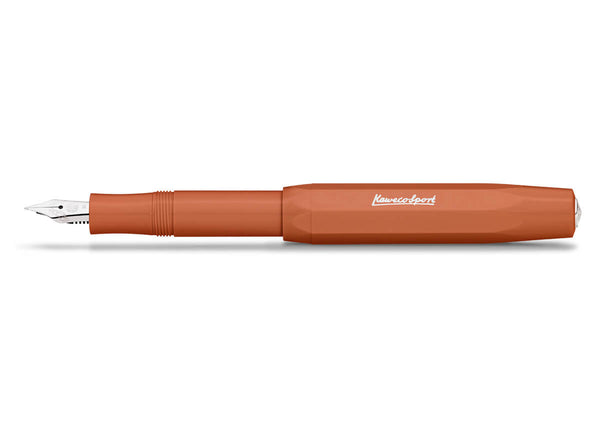 Kaweco Skyline Sport Fountain Pen Fox Orange