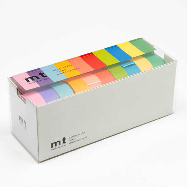 MT Set of 10 Light Colour Washi Tapes