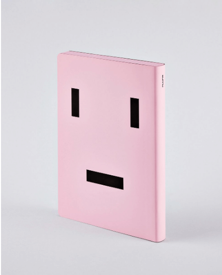Nuuna Text Face Graphic Notebook