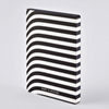 Nuuna Graphic L 'Pret-A-Ecrire' Black Smooth Bonded Leather Notebook