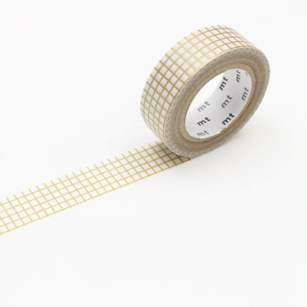 MT 'Hougan' Gold' Washi Tape 1 Roll