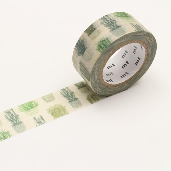 MT Cactus Washi Tape 1 Roll