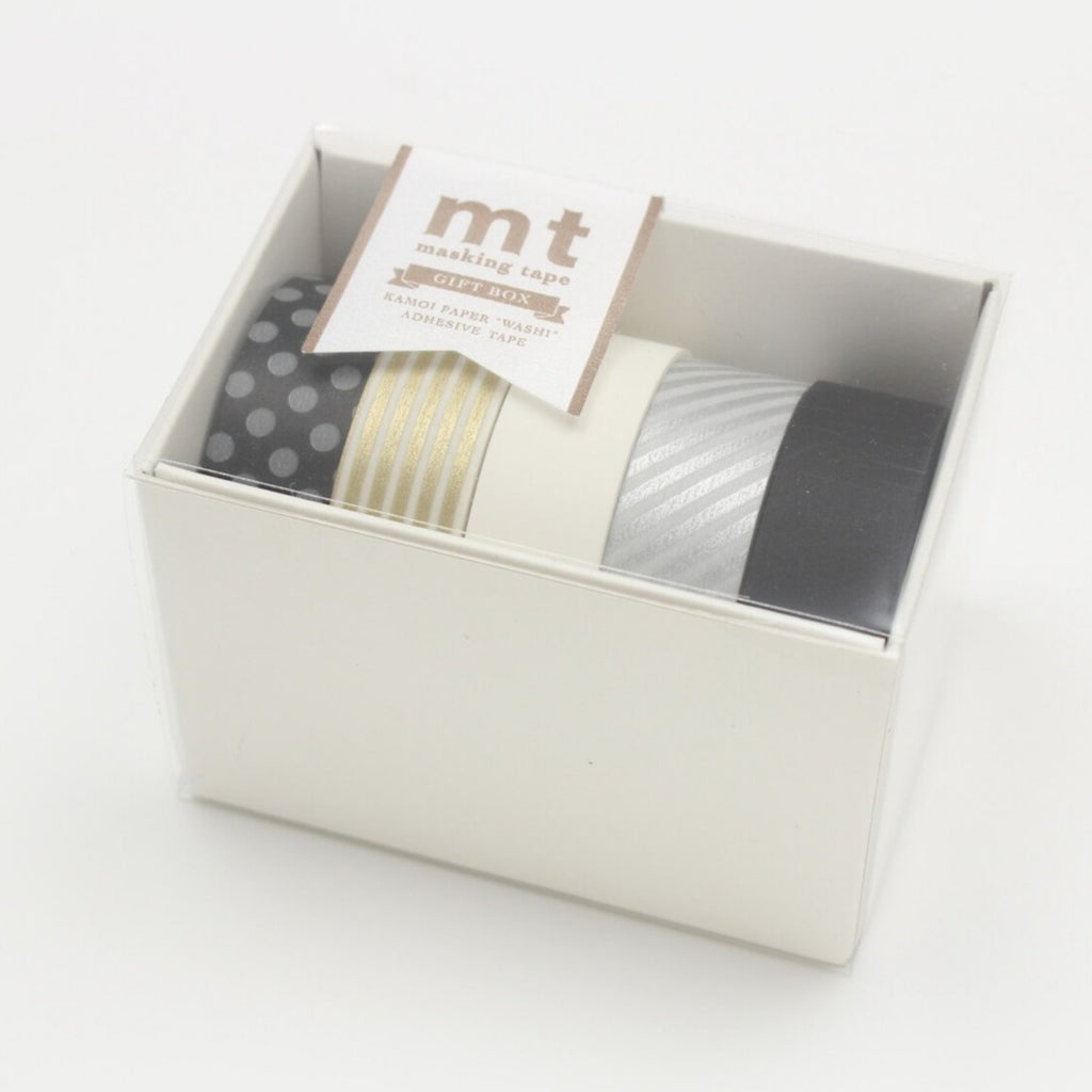 MT Set of 5 Monotone Washi Tapes