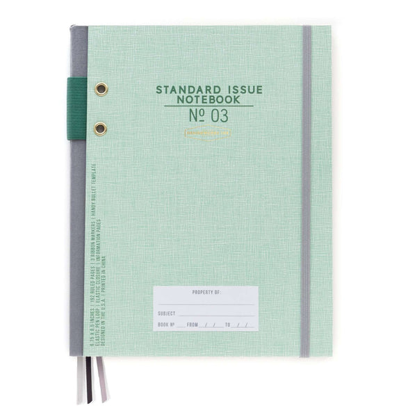 Standard Issue No.03 Journal  Green