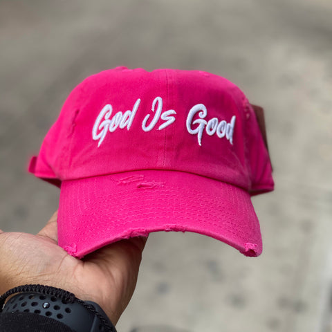 God Is Good Dad Hat