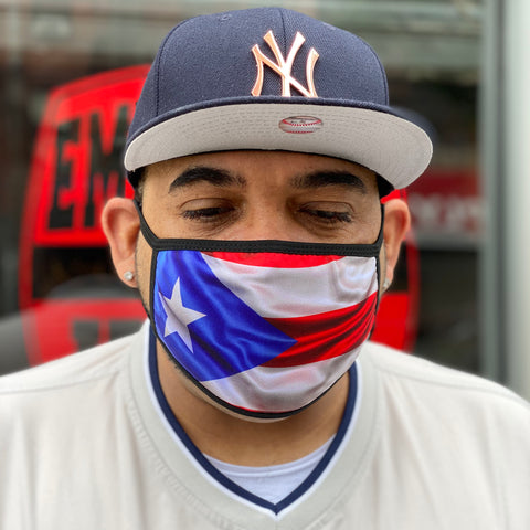Puerto Rican Facemask