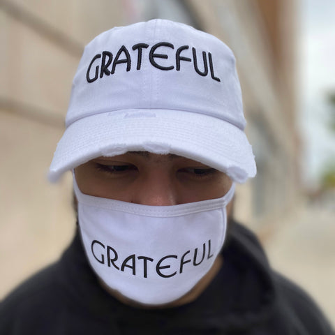 Grateful Face Mask