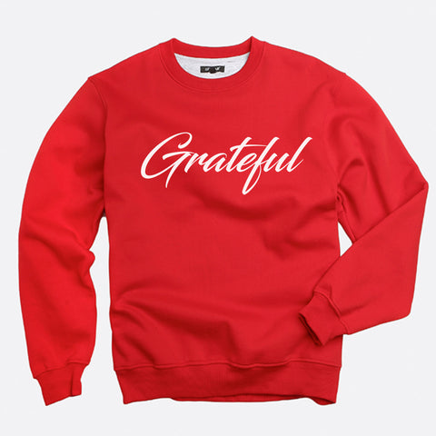 Grateful Sweatshirt (Script)