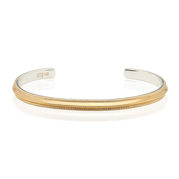 Edge Stacking Cuff - Gold