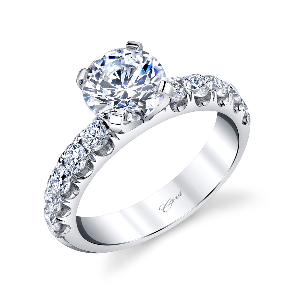 14K White Gold 1.5CT Diamond Engagement Ring