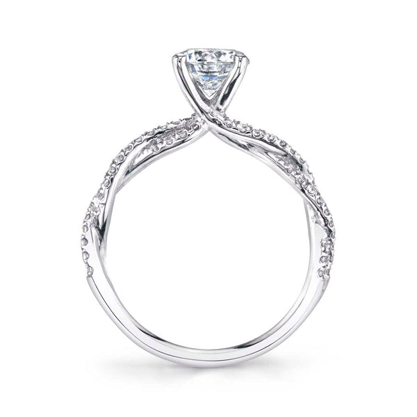 Spiral Engagement Ring - Leana