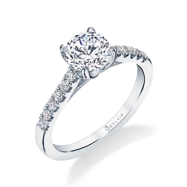 Classic Diamond Engagement Ring - Ameline