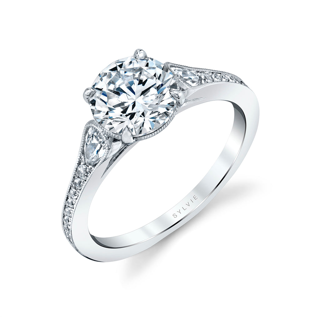Unique Engagement Ring - Esmeralda