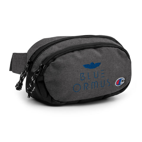 Blue Ormus Champion fanny pack
