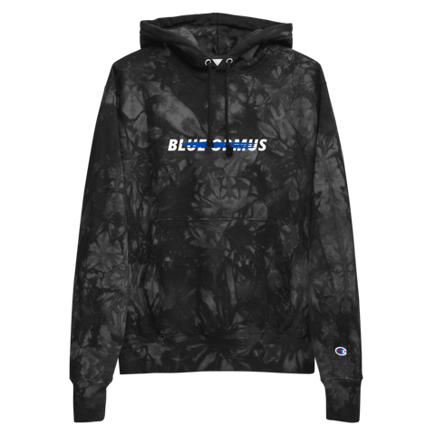 Stained Ormus Unisex Champion tie-dye hoodie