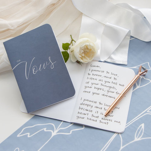 Our Vows - Wedding Vow Books