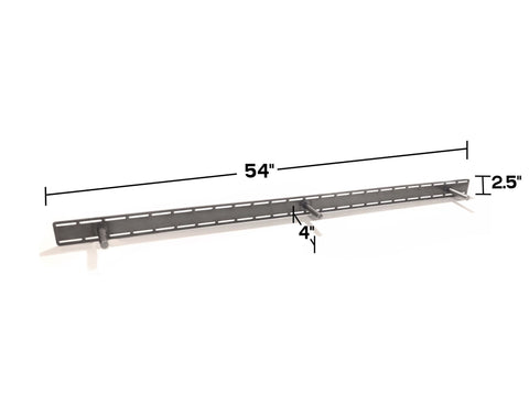 "HD Mantel/Shelf Bracket - 54"" x 4"" x 2.5"" - Dakota Timber Co"