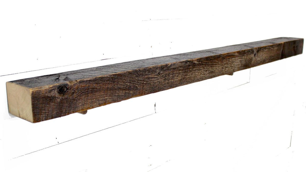 Reclaimed Mantel - Dakota Timber Co