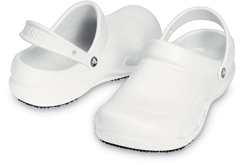 SALE - Crocs At Work Bistro Clog - White - 10075-100