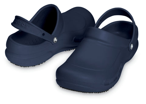 SALE - Crocs At Work Bistro Clog - Navy - 10075-410