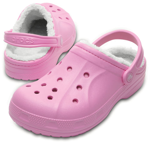 SALE - Crocs Winter Clog - Carnation/Oatmeal - 203766-6U5