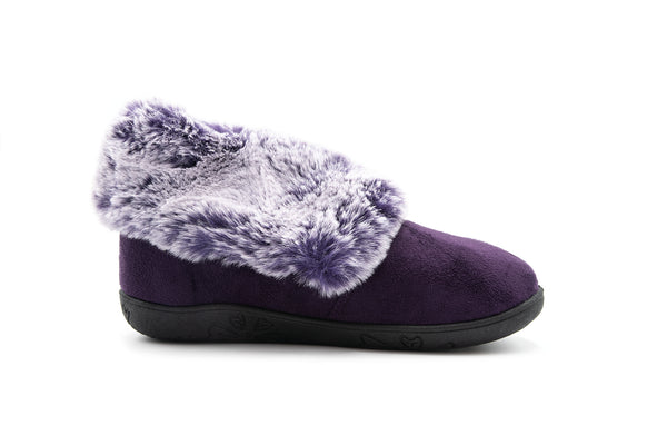Padders Esme Slippers Purple Ladies
