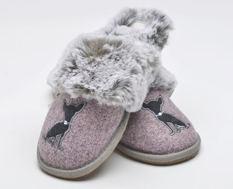 Lazy Dogz Princess Ladies Mule Slipper