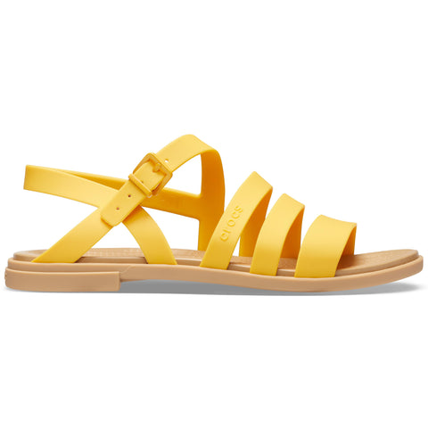SALE - Crocs Tulum Sandal - Canary / Tan
