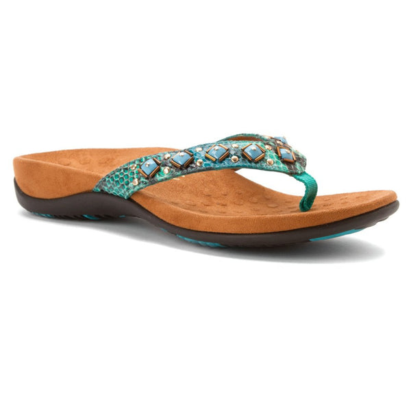 VIONIC FLORIANA Toe Post Sandal with Arch Support - Ladies
