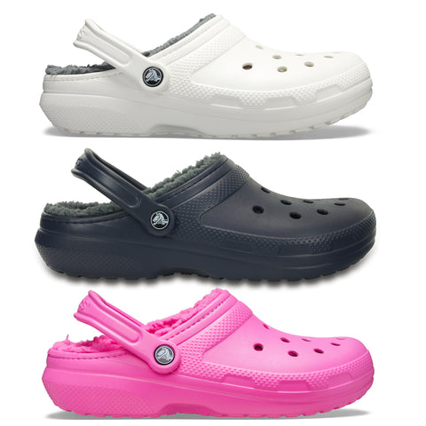 SALE - Crocs Classic Lined Clog - White