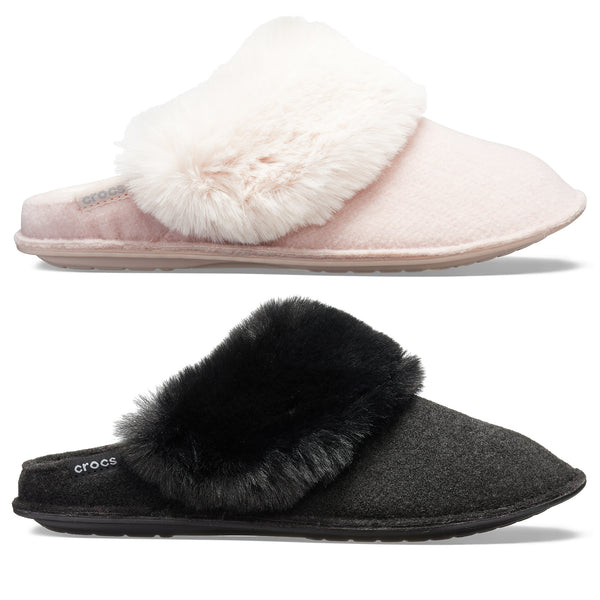 Crocs Classic Luxe Lined Slipper