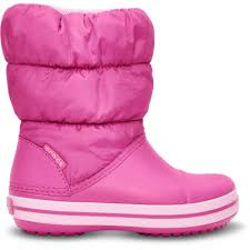 SALE - Crocs Winter Puff Boot - Candy Pink - KIDS