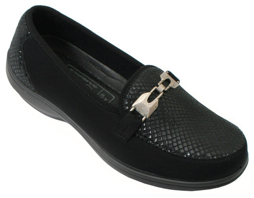SALE - Easy B Justine - Black - UK6