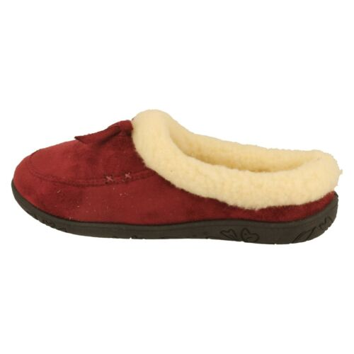 SALE - Padders Snug Slipper - Burgundy - UK 3