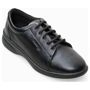 SALE - Padders Refresh 2 Black leather lace up 3E/4E fit