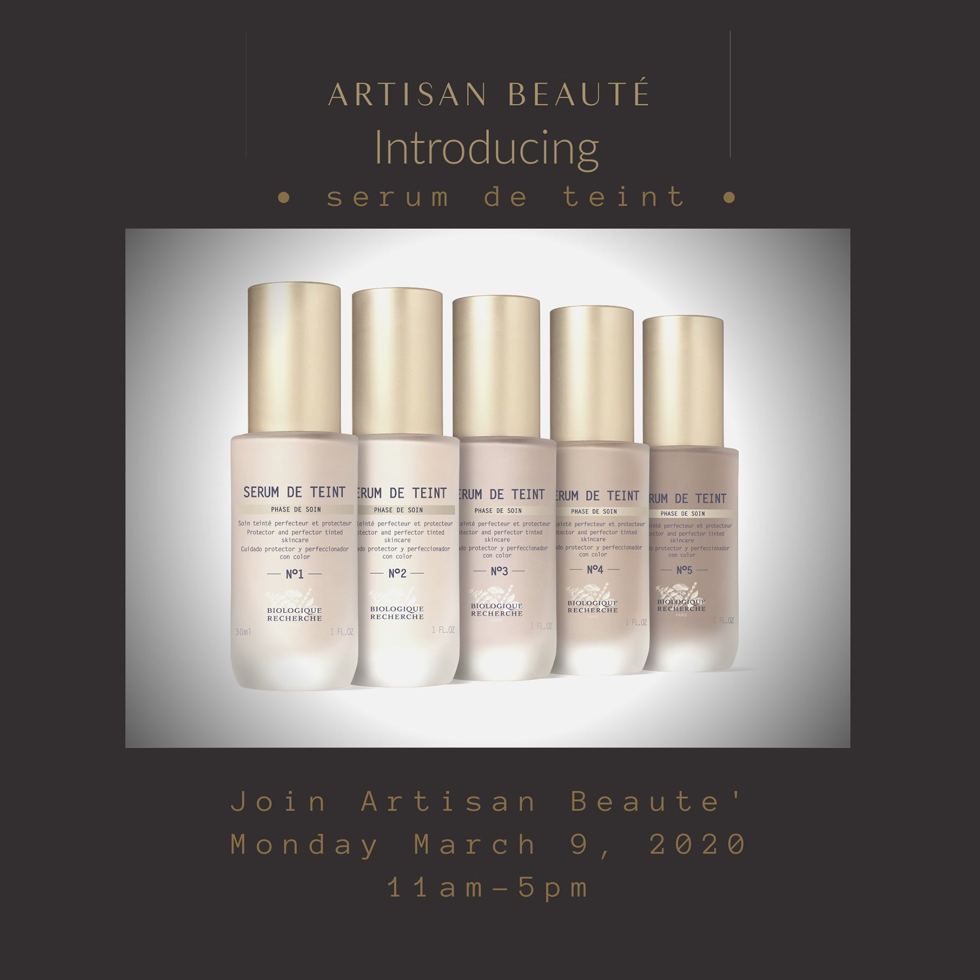 Events at Artisan Beaute