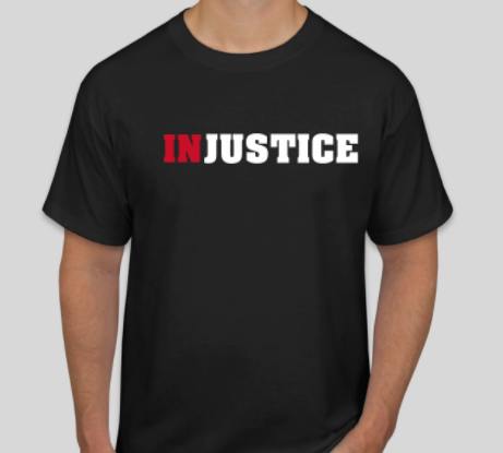 INJUSTICE tshirt