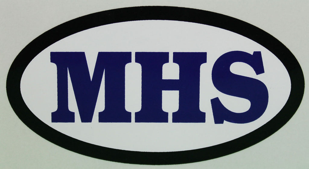 MHS Car Decal