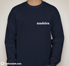 Patagonia Inspired Navy Blue Long-Sleeve Madeira