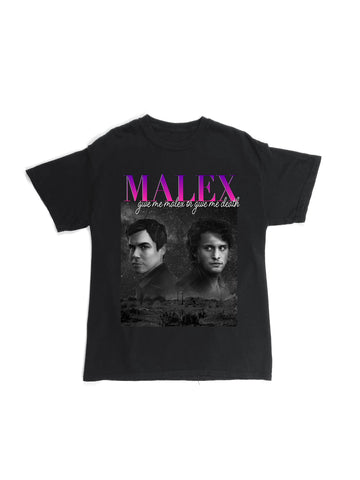 GIVE ME MALEX OR GIVE ME DEATH BLACK RAP TEE