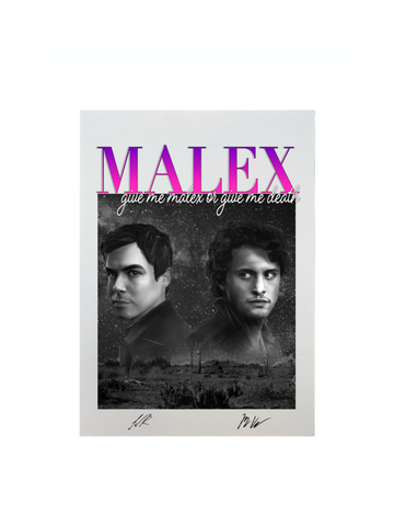 GIVE ME MALEX OR GIVE ME DEATH EXCLUSIVE ART PRINT